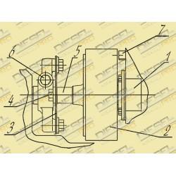 Инструкция по установке топливных насосов высокого давления ТНВД  с укороченной демпферной муфтой на двигатели ЯМЗ