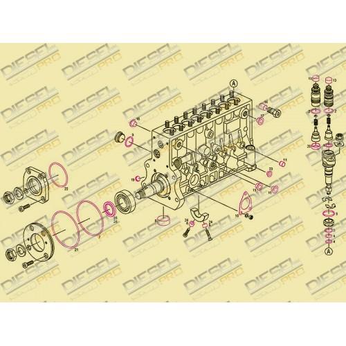 Ремкомплект 2 417 010 022 // WUXI WEIFU (8 цилиндров)